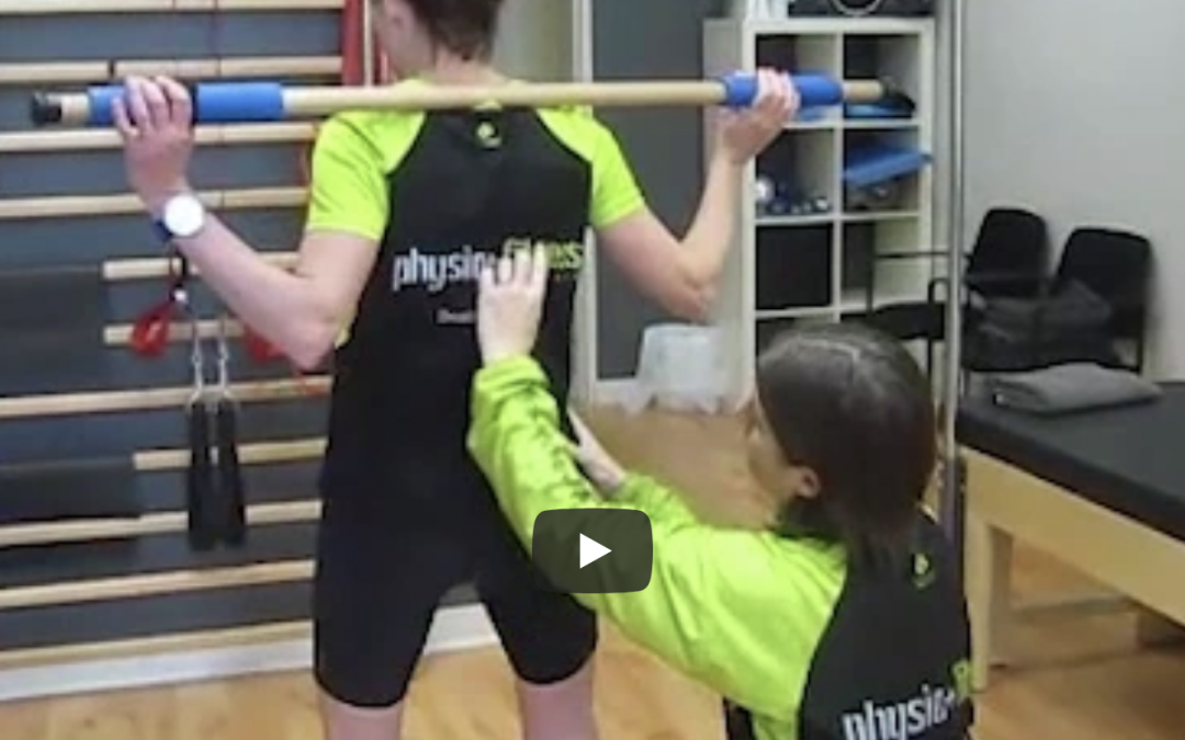 Thoracic Rotation part 2 with The Physio Runner